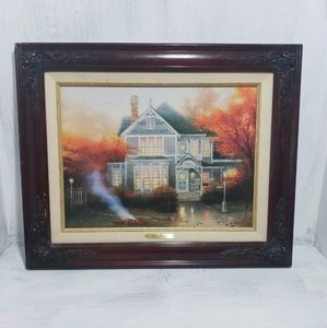 Thomas Kinkade Amber Afternoon Classic 1999 #1